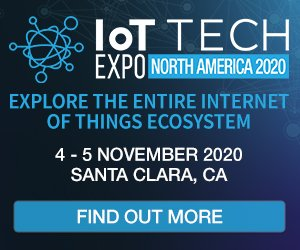 IoT Tech Expo North America 2020 - 300x250
