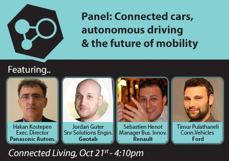 Connected Car Panel