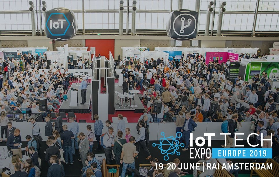- Amsterdam 2019 3 - The IoT Tech Expo announces its 2019 World Series