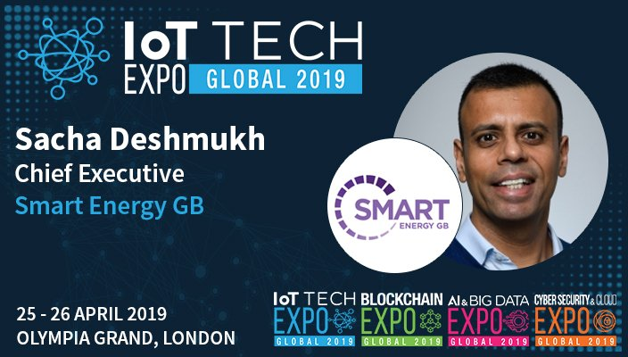 - SMART ENERGY GB - Interview: 5 Questions with Sacha Deshmukh, Chief Executive at Smart Energy GB