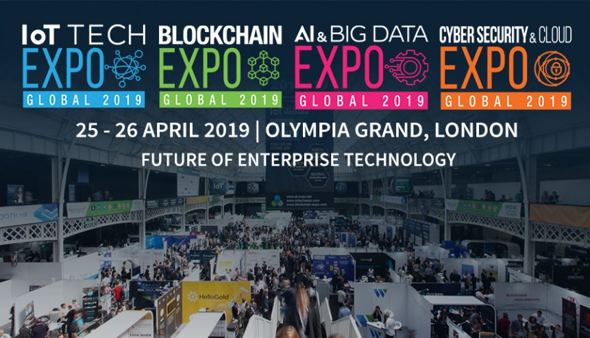 - Global 2019 Header - 7 reasons to attend the IoT event in London this month